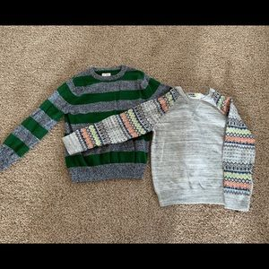 Other - 2 Boys sweaters